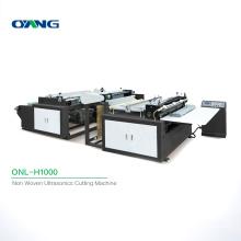 ONL-H1000 High Quality Non Woven Cutting Machine, Wholesale Ultrasonic Fabric Cutting Machine