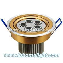 Projecteur de plafonnier led en aluminium à 5W