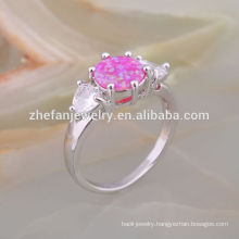 Rare Gemstone Jewelry Vintage Opal Stone Sterling Silver Opal Engagement Ring
