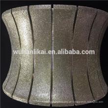 rodas suprimidas galvanizadas diamante para a venda