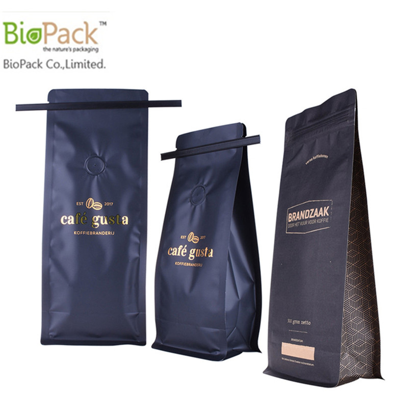 Coffee Bag With Shiny Finishing