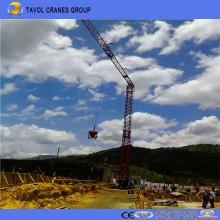 Grúa torre de construcción rápida Qtk20 Grúa torre de construcción