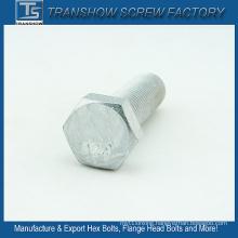 M14*50mm China Manufacturer Silver Coated Hexagon Bolt Grade 12.9