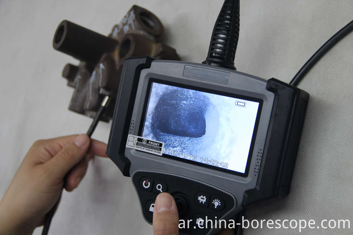 6mm probe video borescope
