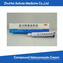 Crème De Ketoconazole Composée Anti Acné Fungal