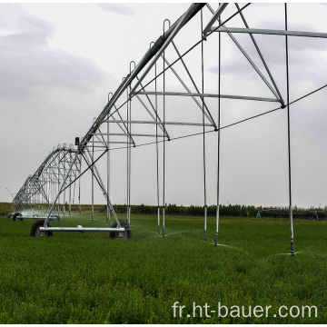 Conception du système d'irrigation à pivot central