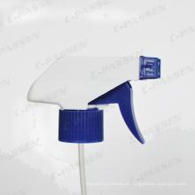 Cabeça de pulverizador de mão de plástico branco para garrafa