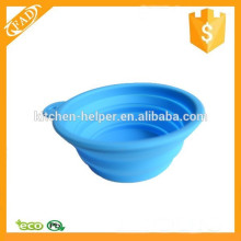 High Quality Non-stick Silicone Expandable Pet Feeding Bowl