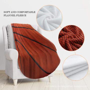 manta reversible térmica cálida de doble cara con impresión personalizada