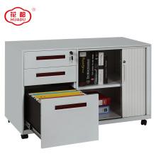 China Fabrik benutzerdefinierte Hälfte rollenden Schrank Mobile Podest Datei Kabinett
