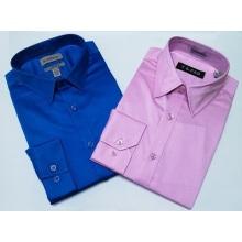 Camisa masculina de cor sólida