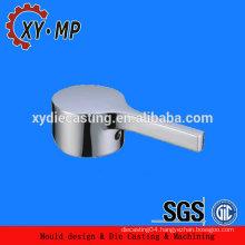Special design chrome plated mirror Zinc alloy faucet handle