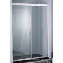 Écran de douche coulissant caché de porte de douche de rouleau