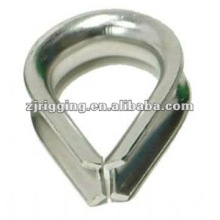 European Type Wire Rope Thimble cable thimble