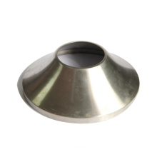 ISO9001 certificate stainless steel round brushed metal lamp shades