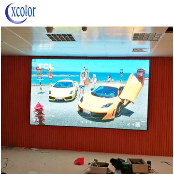 P2.5 Pequeno Pixel Pitch Indoor LED Screen Display