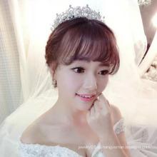 Женщины Прополка Корона Tiaras Пользовательские Корона Real Diamond Bridal Tiaras