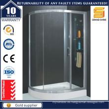 Reemplazo de descuento Sweep Corner Glass Shower Sliding Doors