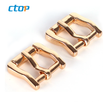 Custom zinc alloy aluminium metal die casting brass belt buckle belt bag buckle metal