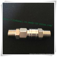 Aço Inoxidável Sm / Pm Conector Rápido Pneumático