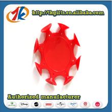 Novo brinquedo de disco de vôo pegajoso de PVC projetado para venda