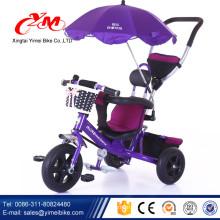 2016 heißes verkaufendes Babywandererdreirad 4 in 1 / Kind benutzte Dreirad für Verkauf / billiges Dreirad für 2 Einjahreskinder