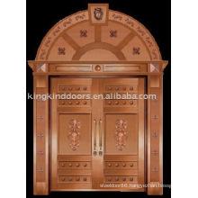 luxury copper door villa door exterior door double door KK-706