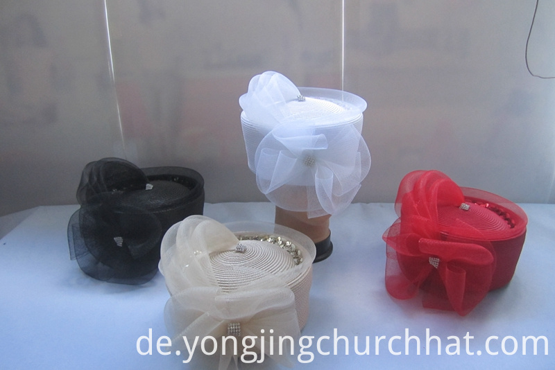 Pill-box Church Hats