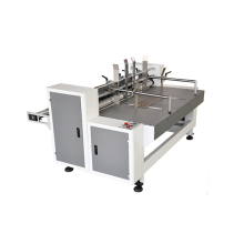 Automatic corrugated board partition slotter machine