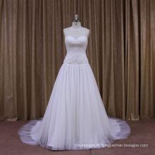 Бисером Хорошая Цена Новое Прибытие Свадебное Платье