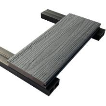 Wpc Decking, Co Extruded Decking, Decking de material compuesto de plástico extruido