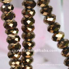 2016 Crystal Rondelle glass beads