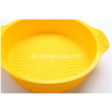 Silikon-Soft-Round Pan zum Backen Kuchenform