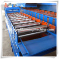Máquina formadora de rollos de teja esmaltada Metal de hoja del material para techos