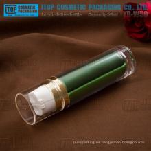 YB-W50 50ml (25 ml x 2) popular y único de alta calidad doble capas de día y de noche crema doble botella de plástico