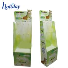 Roupa de suspensão material do papel de exposição de pano do cartão que seca a cremalheira