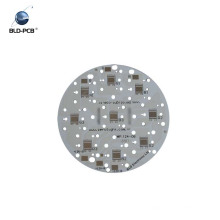 1 carte PCB 1OZ de noyau en aluminium de la couche HAL, panneau de carte PCB de LED