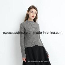 Jersey de cachemira de la moda de invierno de las mujeres