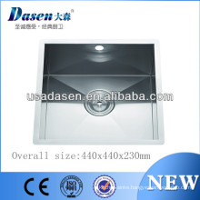 Public santiny stainless steel DS4444 industrial commercial sink