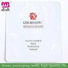 Aluminum foil custom design cosmetic packaging bags for facial mask