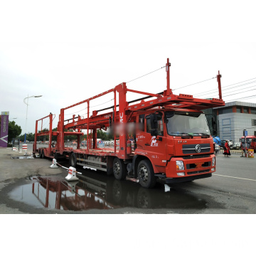 3 Axles Car Transport Car Carrier truck