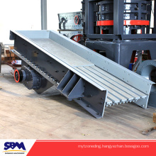 High efficient vibrating feeder machine, feeder machine for stone crusher, grizzly screen for gravel