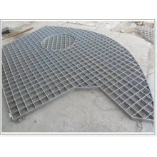 Reasonable Price Anping China Rainwater Steel Grating Irregular Steel Grating
