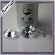 Diamante de imitación de alta calidad del tamaño grande del corte del diamante 15X20m m