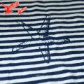 Китай Оптовая продажа фабрики в полоску синий и белый густой Подгонянные полотенца с кистями
