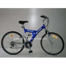 """Bicicleta de montaña con marco de acero de 26 """"(2604)"""