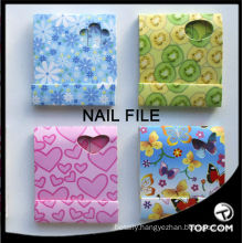6 pcs nail file emery board, disposable nail file