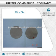 Industry Standard Size Low Cost Mica Disc