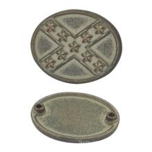 Custom Handbag Metal Tag with Rivets