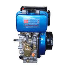 Motor diésel de un solo cilindro, 4 tiempos, refrigerado por aire de 6.3HP (KA186FS / E)
